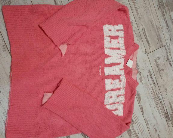 Pinko sweter dziury M