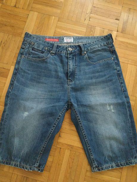 Nowe męskie szorty jeans