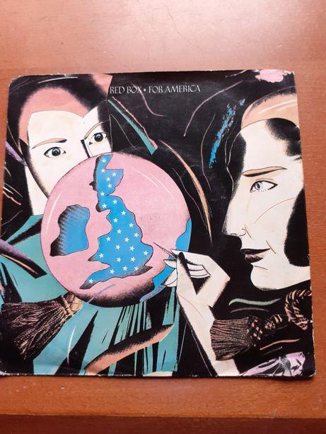 RED BOX - For America - disco vinil single