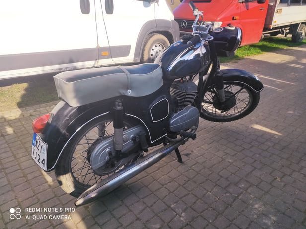 Shl m11 W2A 175 wiatr zamiana zamienię motocykl wfm WSK quad cross prl