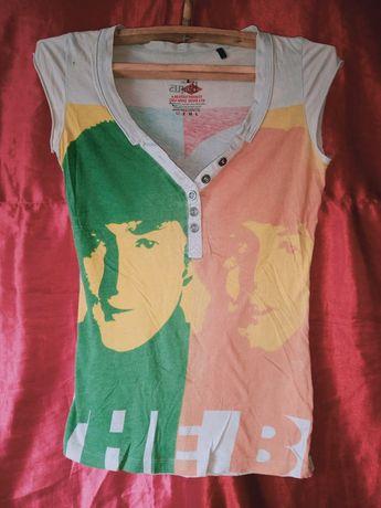 Интересная блуза/майка The Beatles John Lennon Paul McCartney битлз