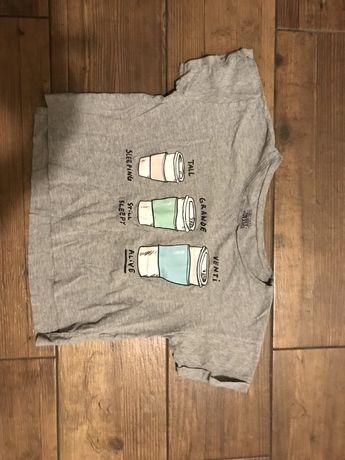 Koszulka t-shirt sinsay xs/s tania wysylka olx 1 zl