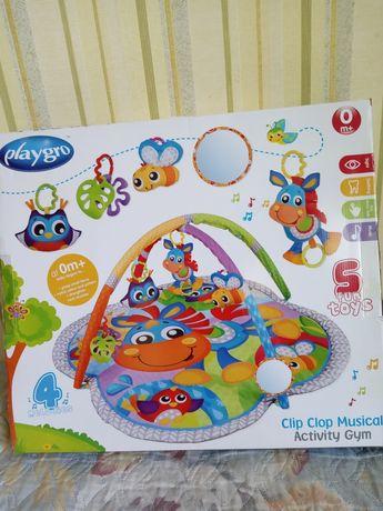 Развивающий коврик для маленького ребёнка 0+