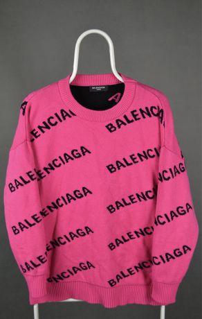 Свитер кофта Balenciaga x loro piana balmain diesel оригинал M L