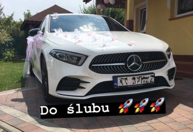 Ozdoby Dekoracje na Samochód Auto Wesele Ślub