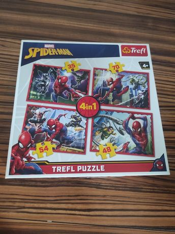 Puzzle Spider-Man Marvel 4 w 1