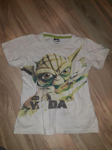 Bluzka koszulka 110 star wars yoda coolclub 104
