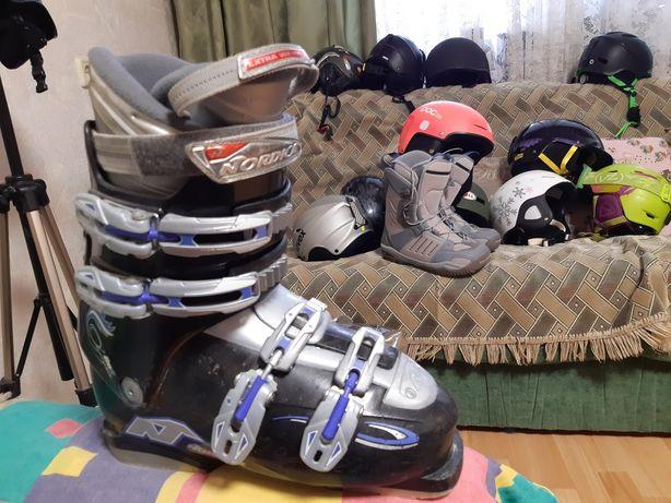 горнолыжные ботинки Nordica, лыжные ботинки лыжи сноуборды