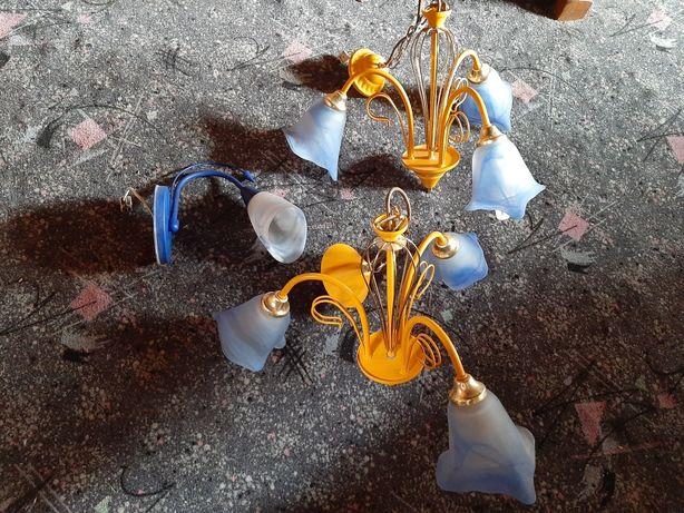 Lampy wiszące używane