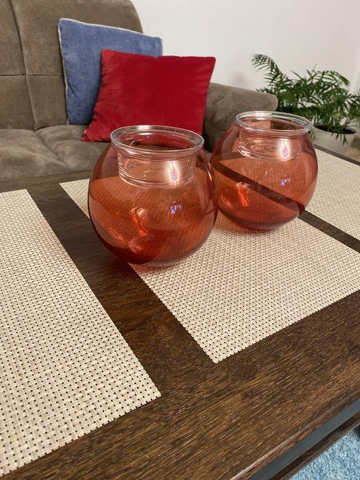 Szklane świeczniki Wilczy Las - image 1