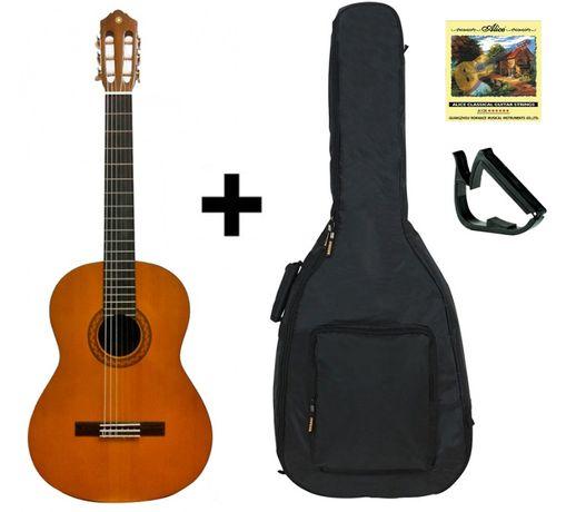 Гитара классическая Yamaha С40 (чехол, медиатор, струна)