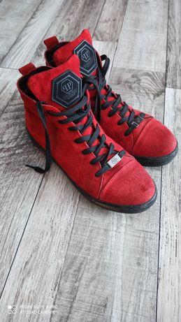 Кеды ботинки демисезон