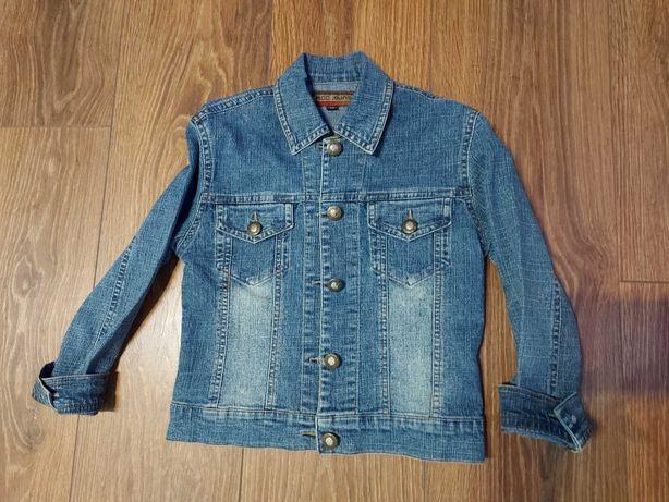 Kurteczka jeansowa rozmiar ok. 116