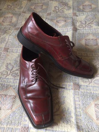 ecco туфли продам Кожа Оригинал отличное состояние р 46