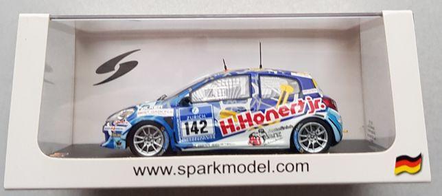Spark Model: SG199 1/43 Renault Clio n.142 Schlappi Race-Tec