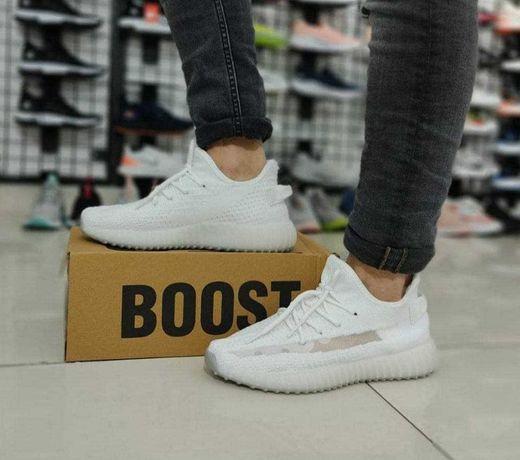 Мужские Кроссовки Adidas Yeezy BOOST   Летняя обувь Адидас Буст