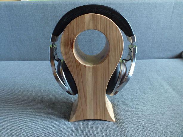 Słuchawki DENON AH-MM 400+ Stojak z Drewna-JAK NOWE !