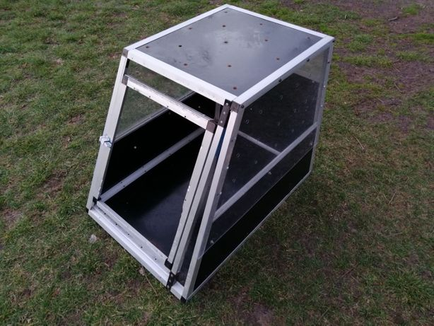 Klatka transporter do samochodu aluminium