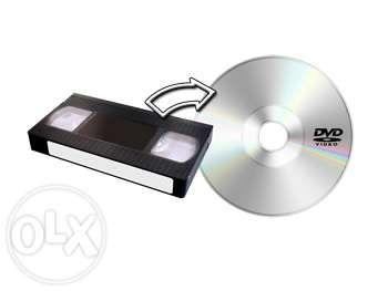 Przegrywanie kaset VHS na płyty DVD, pendrive - 8 zł/kaseta