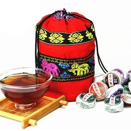 Чай пуэр мешочек! 45 мини точ с разными вкусами