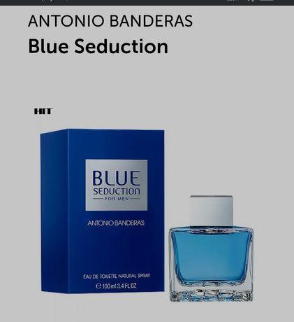 Туалетная вода /парфюм/ духи Antonio Banderas Blue Seduction 100 мл
