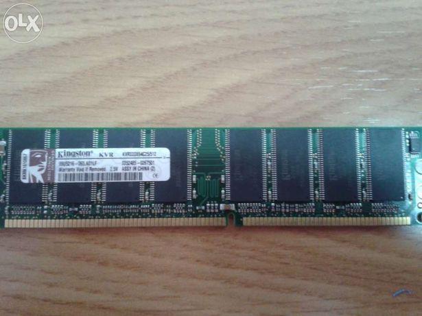 Memórias DDR333 Kingston KVR333/512MB