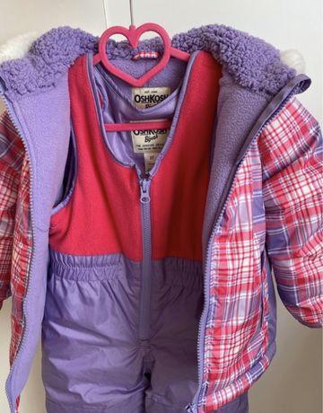 Kombinezon zimowy OshKosh spodnie + kurtka