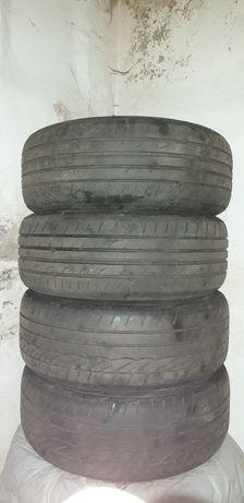 Резина dunlop 205/55 r16 лето 91v 4 ската, по цене одного!