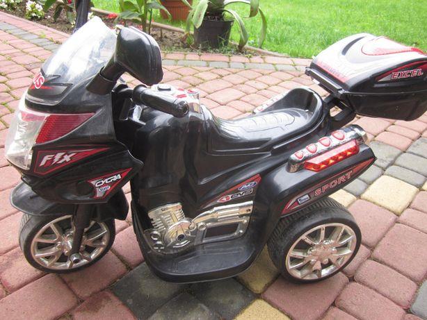 Motocykl akumulatorowy