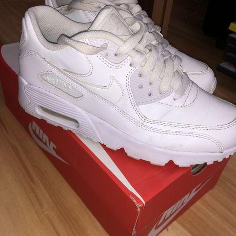 Nike air max biale