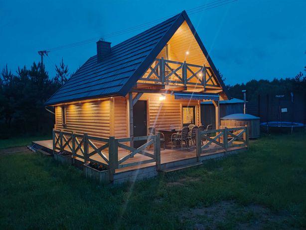 Domek na kaszubach w Żurominie koło  Stężycy Chatka u Tadka