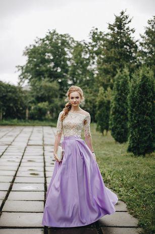 Платье выпускное, комплект тройка , випускна сукня ,костюм