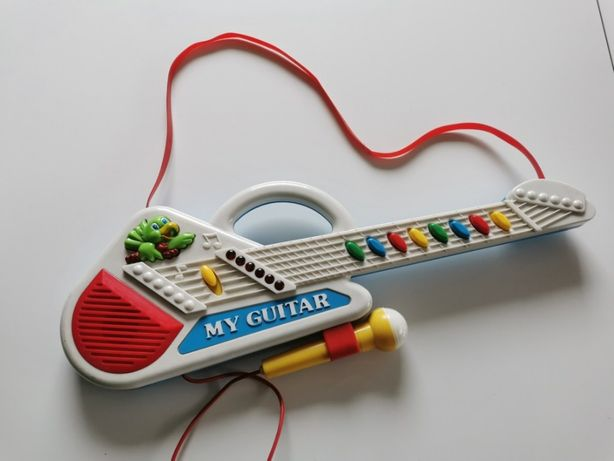 Gitara z mikrofonem dla dzieci Weina