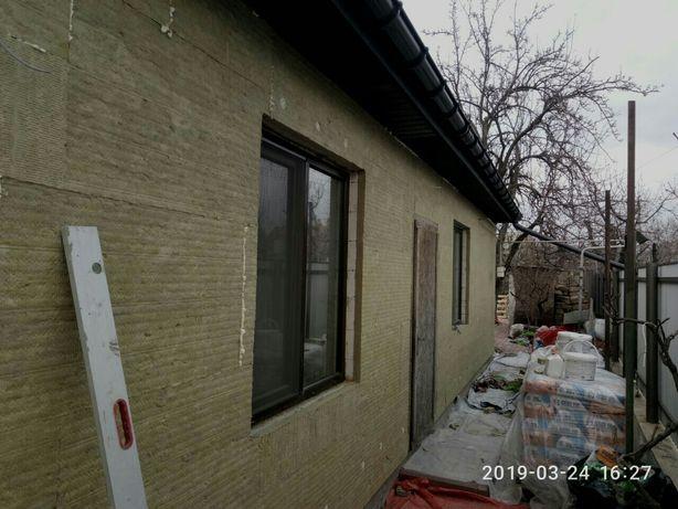 Утепление стен частных домов и квартир