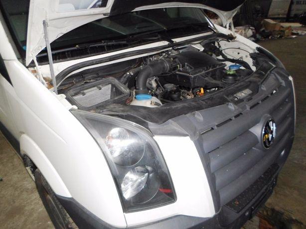 Двигатель 2,5 2.5 tdi Volkswagen Crafter Крафтер 80 100 120 кВт E4 E5