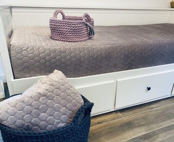 Pokrowiec na materace na łóżko  Hemnes z ikea