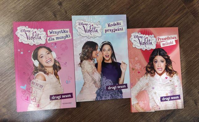 "książki ""Violetta"" sezon 2"