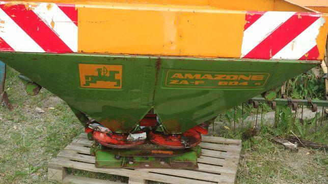 Rozsiewacz Amazone Zaf 604 hydraulika i nadstawka