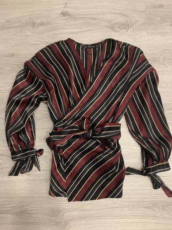 Блузка на запах Zara, розмір M