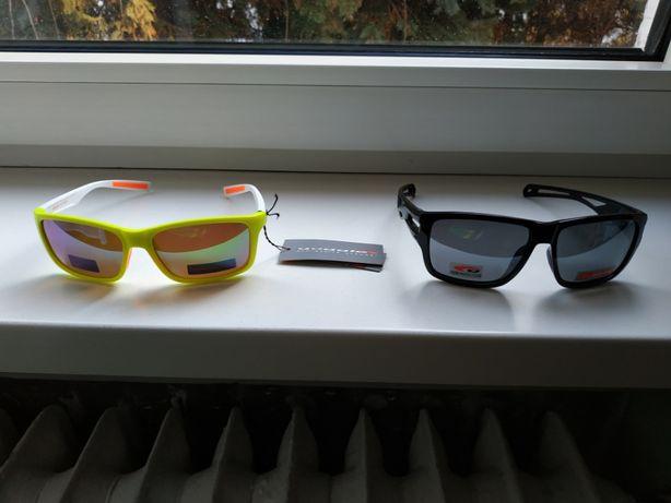 Okulary sportowe firmy Goggle modele E916-3P i T801-1P