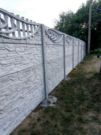 купити бетонный забор винница