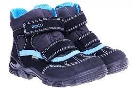 Ecco ботинкт зима екко
