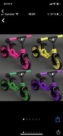 Беговел байк самокат велосипед велобег мотоцикл Орион-от 2 до 6 лет!!