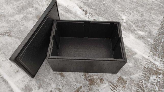 Pojemniki termoizolacyjny / styrobox GN 1/1 200 mm z pokrywą.