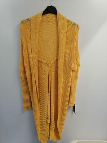 Sweter narzutka kardigan uni