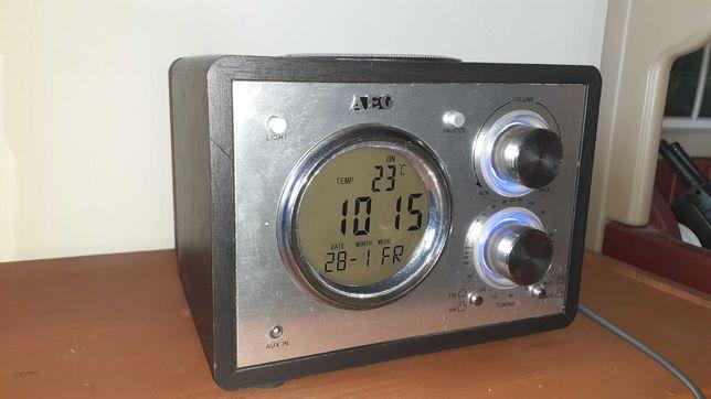 Radio AEG MR 4104,zegar,budzik,termometr,datownik