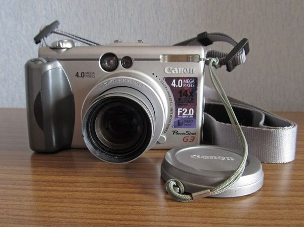 Canon PowerShot G3 (комплект)
