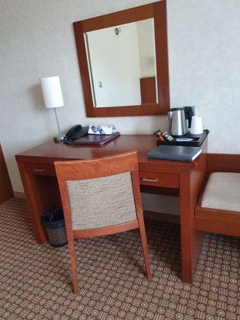 Komplet mebli hotelowych pokój 2os. łóżka kontynentalne fornir