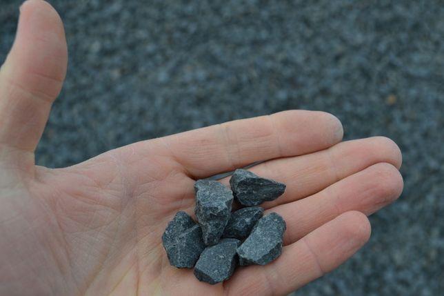 Bazalt, kruszywo ozdobne, kamień ogrodowy 11-16