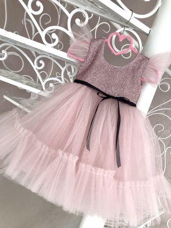 Нарядные платья для девочек, от 1 годика до 9 лет